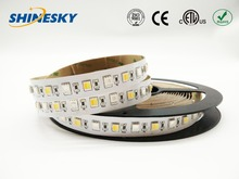 New design Five Color changing RGBW SMD 5050 24v 72Leds LED Strip Light