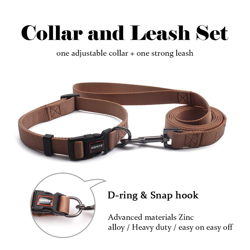 Custom pattern dog pet nylon fabric accessories collar and leads strap no minimum order quantity