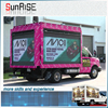 LED ad. advertising comercial advertising signs LED mobile truck billboards advertising LED display TV P5mm LED board