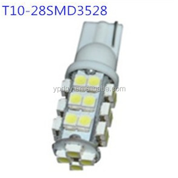 factory producing T10 LED Light 3528-28SMD LED