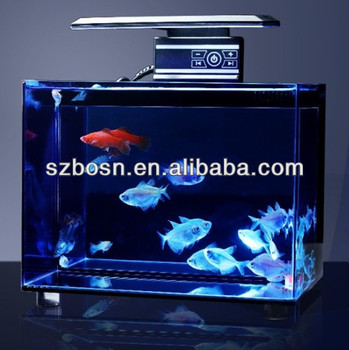 Cuboid Acrylic Fish Tank with LED Light, LED Aquarium, LED Fish Tank