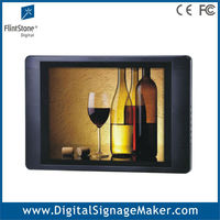 15 inch advertising display lcd large digital picture frames