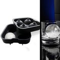 Arrival Silicone Spherical Round Ball DIY Ice Cube Tray Maker Mold Bar Kitchen