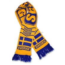 Sweden Team Fan Scarf