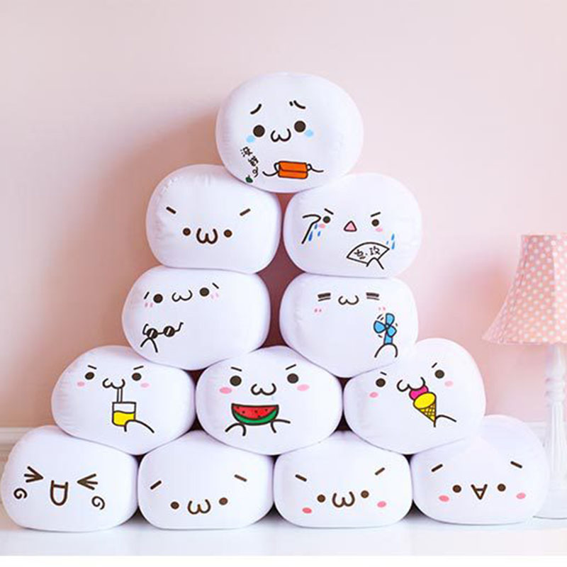7-Styles-Soft-Emoji-Smiley-Emoticon-White-Round-Cushion-Emoji-Pillow-Stuffed-Plush-Toy-Doll-Valentine