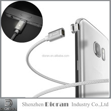 Type C Magnetic charger Cable Wsken USB data Cable Charging for Huawei P9 Xiaomi Mi 4C Letv Nexus 5X/6P Oneplus2 Meizu Pro