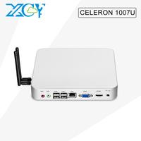 XCY Fanless industrial panel Celeron 1007U 1.5 GHz barebone 6 USB
