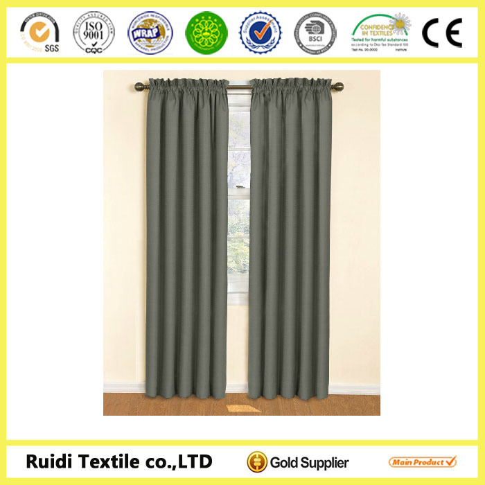 Blackout Curtain, Blackout Energy-Efficient Curtain, Eclipse Samara Blackout Energy-Efficient Curtain