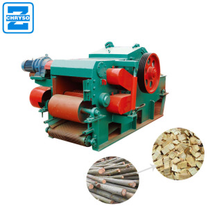 high capacity pine wood log drum chipper machine for sale