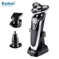 Kemei KM8873 Hot Sale 3 in 1 Quality Shaving Razors 2017 Best Men's Foil Shaver