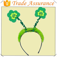 wholesale Irish Party Decorations Green Colors St Patricks Day Party headband