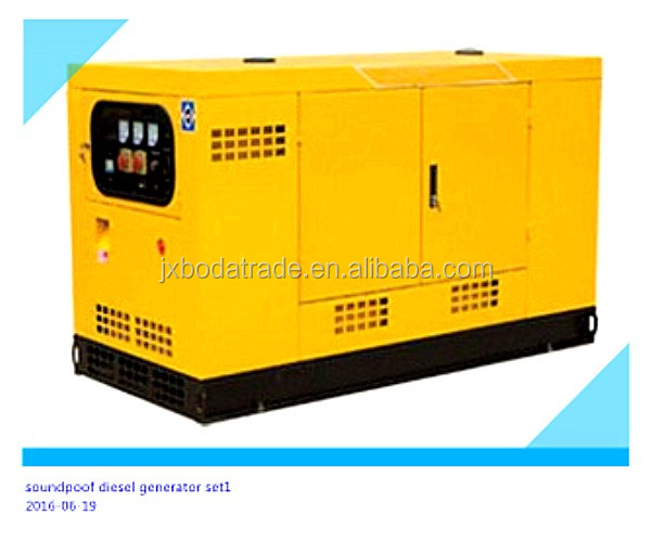 weichai engine 25kw sound proof china cheap diesel generator price