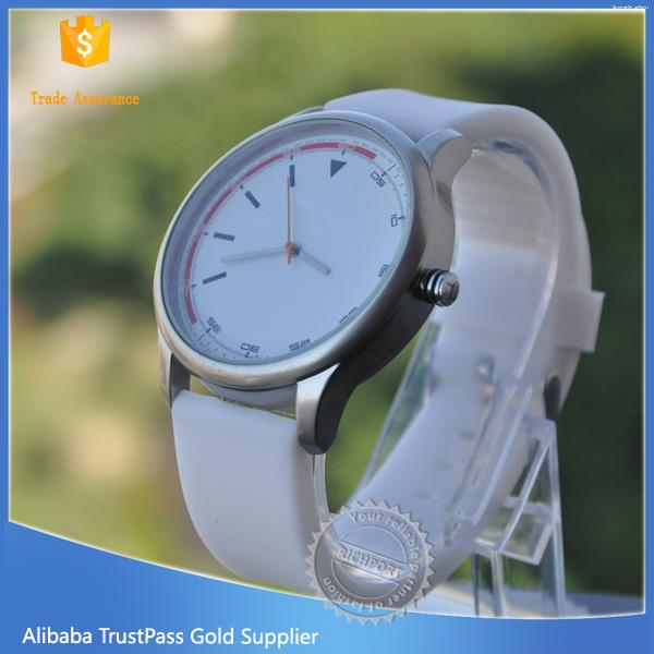 Durable hot sale ladies silicone watch multicolor gift