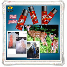 Autokem best seller tail paint, tail marker, inverted pig/cattle/sheep/livestock/animal marking spray paint