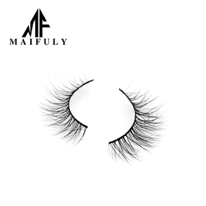 Wholesale Handmade 100%pure 3d Mink Eyelashes Like Real Eyelashes