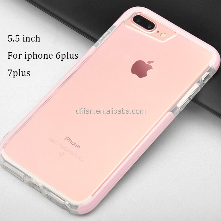 DFIFAN Super Safe 2 in 1 tpu+tpe case for iphone 6 7 8 case combo shell case for iphone 6 7 8
