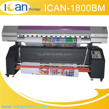 Factory wholesale 1.8m used digital vinyl flex banner printing plotter machine price dx5 dx7 head banner printer for sale