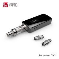 2015 best box mod Ascension S50 Adjustable Wattage Vape Electronic Cigarette