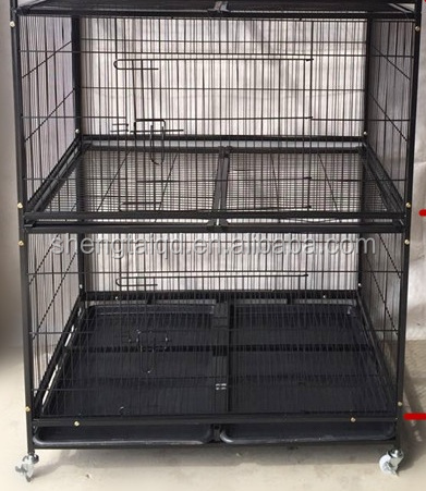 large stainless steel parrot cage for sale