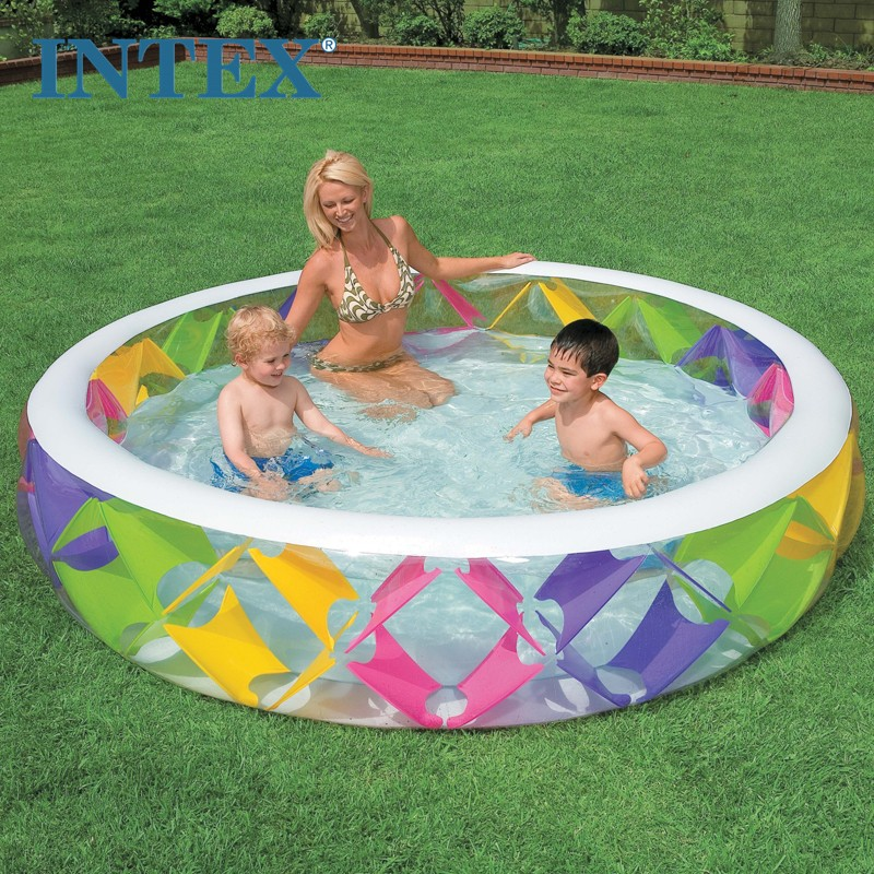 Intex Inflatable Swim Center Pinwheel Children Pool