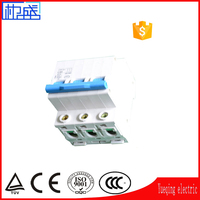 DZ47 1P 2P 3P 4P 1A 6A 32A 63A LP Power Distribution Equipment mini electric switch disconnect switch MCCB