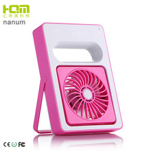 China Wholesale 5v dc Battery Operated usb Desk Rechargeable Standing Fan for Power Bank