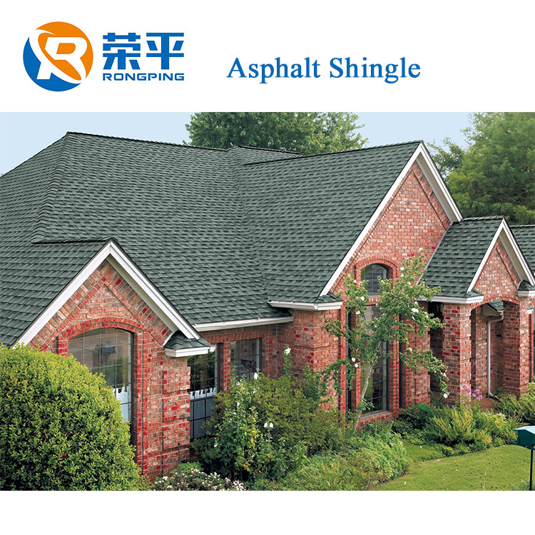 Goethe asphalt Shingle Cheap Price High Quality 2.6mm 20years Roofing Tiles color