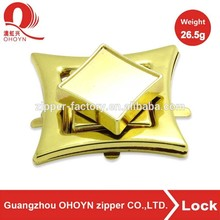 China high quality bag fitting metal bag twist turn lock