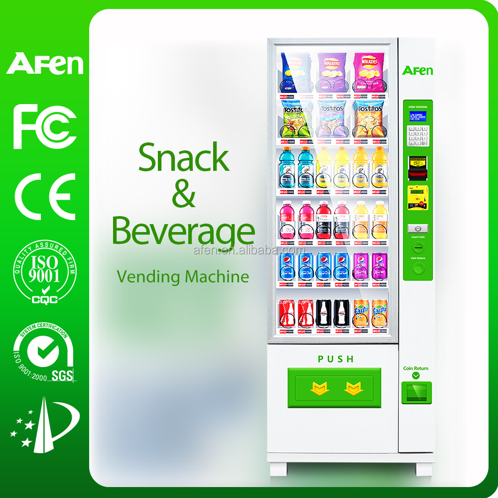 Chips, Chocolates, Drinks, Snacks automatic Vending Machine
