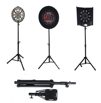 Portable Metal Dart Board Stand Solid Dartboard Stand For Serious Players