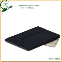 for ipad mini case smart genuine leather case (Shenzhen factory and Paypal acceptable),flip design leather case for ipad mini