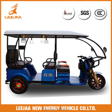 Leejaa tricycle electric auto rickshaw for passenger 2017