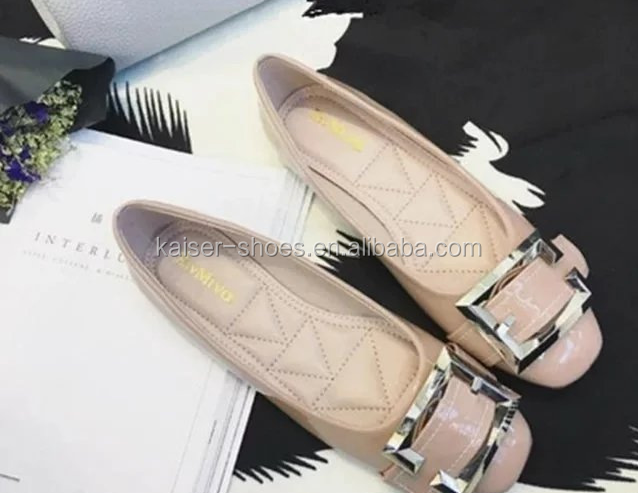 KASali-035 women dress shoes ladies belly shoes; pictures of women flat shoes; wholesale wide width women shoes