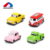Mini pull back toy school bus model wholesale diecast cars for children gift