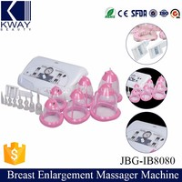 hot selling body physiotherapy breast vacuum enlargement device