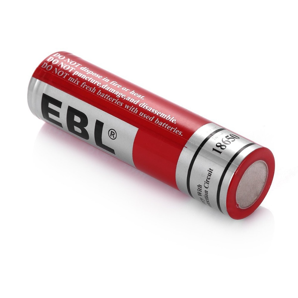 EBL Factory Price Hot Sale 18650 LI-ION Battery 3.7V 3000mAh Performance Rechargeable Batteries 6 Pack For camera,Flashlight,etc