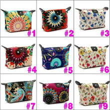 Wholesale Stock Small polyester Cosmetic Bag For Women