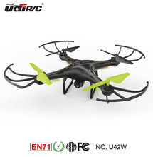 U42W Aerial photography radio control 2.4G 6gyro quadrocopter airplane x5c-1 ufo drone with hd camera