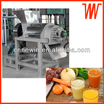 Spiral Fruit juice Making machine 500kg/h