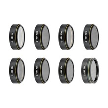 8 Pieces Drones Lens Filters Kit for DJI Phantom 4 Pro+