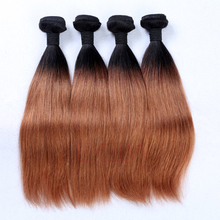 Wholealse human hair weft 100% Brazilian Hair Silk straight human hair-HW