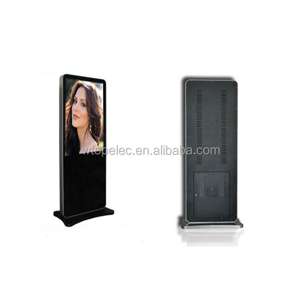 Most Popular Shopping mall touch screen 42 inch Digital Signage Kiosk interactive panel sixe English Video player