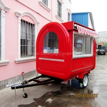 snack mobile catering trailer food van XR-FC220 F