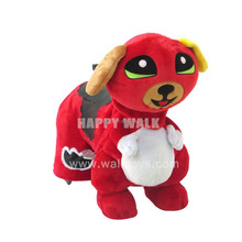 HI zippy battery operated plush animals, plush riding battery operated animal ride