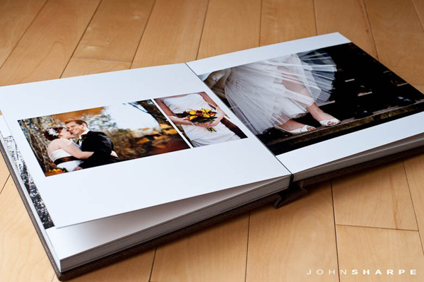Delicate cover wedding photo album For Photographer
