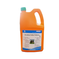 animal disinfectant of povidone iodine solution