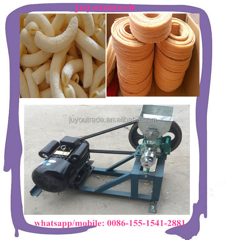 Food Extruder Machine/corn puffing machine for Small Business Selling