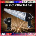 Wholesale price jk light bar 240w, high intensity 240w led flood light for jeep