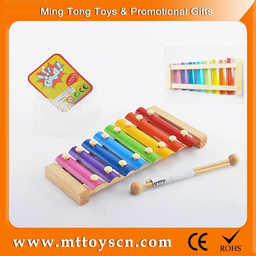 Colorful wood funny musical instruments prices notes music xylophone