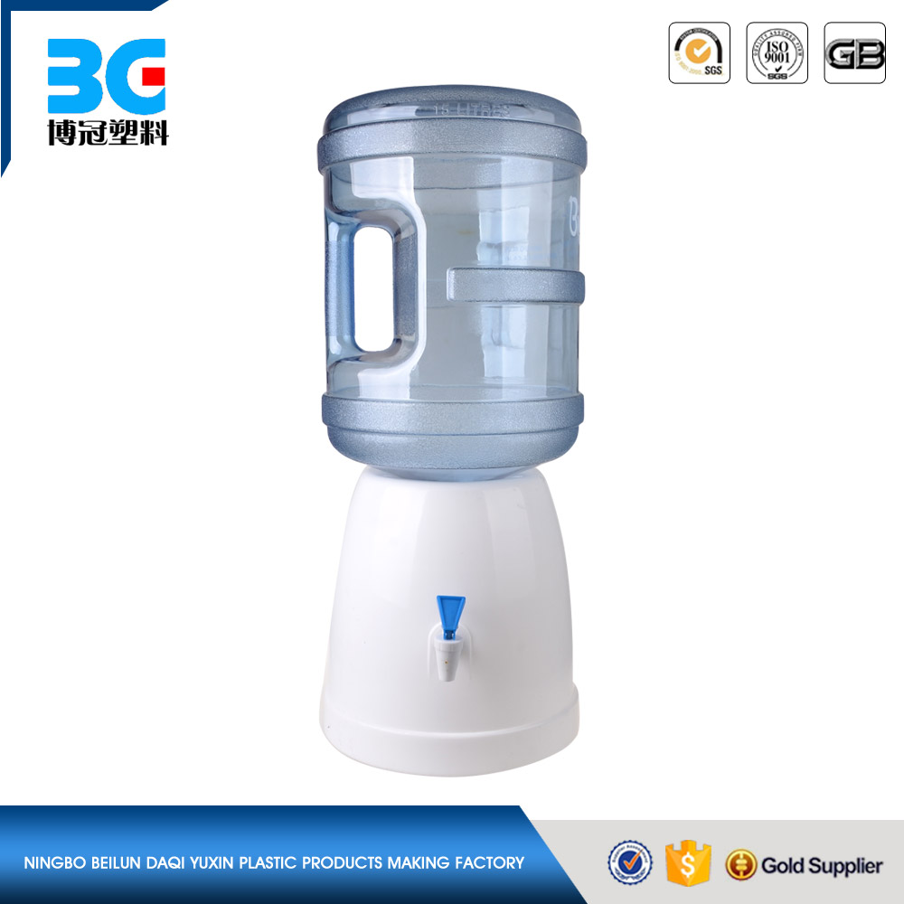 Non electric desktop mini water dispenser for 3&5 gallon bottle